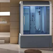 Eagle Bath WS-501 Steam Shower w/ Whirlpool Bathtub Combo Unit