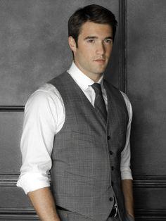 Josh Bowman as Daniel Grayson #Revenge