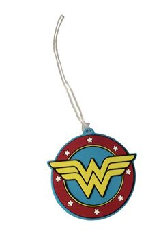 3aae702e95 DC Comics Wonder Woman PVC Luggage Tag ID Holder New Licensed  DCComics
