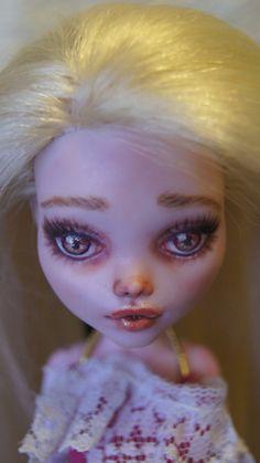 Nova monster high repaint custom doll by fantasy by deannabachart