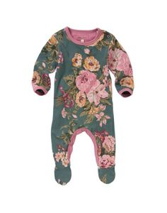 Floral Babygrow - I WANT THIS FOR HER!
