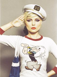Debbie Harry. I know it's not stripes but I loved it anyway.