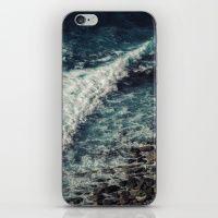 Blue ocean I iPhone & iPod Skin