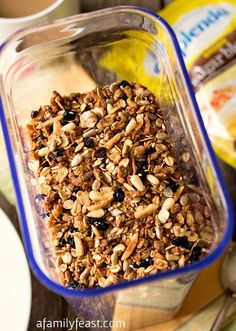 It's easy to make your own Homemade Multigrain Cereal! Your choice of grains and oats, dried fruit and nuts.