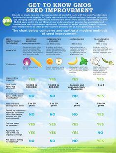 Plant breeding types (GM).