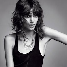 Freja Beha with another beautiful necklace #wewantsale #jewellery #necklace