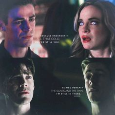The Flash⚡ This parallel⚡❄ Deep down WE are the same #Snowbarry #FlashFrost #savifrost #theflashseason3