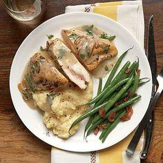 Stuffed Chicken Breast Recipes   CookingLight.com