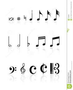 Music Notes Royalty Free Stock Photos - Image: 7008998