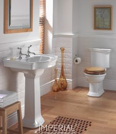 Firenze large basin and pedestal #luxurybathroom #imperialbathrooms #madeinengland