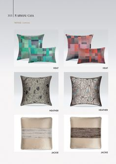 Textiles   Armani/Casa