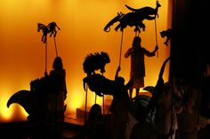 "Children of Eden - Puppets for ""The Naming"" - Scenery & Props"