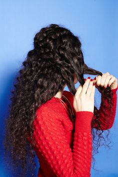 How To Braid Curly Hair - Cute, Plait Styles