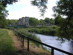 View from the old mill to Kells Priory in Ireland. I felt the most serenity I have ever known here.