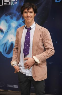 Benedict Cumberbatch at the launch of The Deep exhibition at the Natural History Museum in 2010.