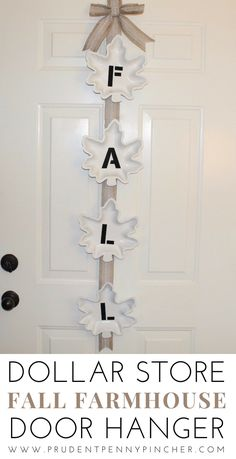 Dollar store farmhouse case door hangerDollar Store Farmhouse Fall door hanger Fall Farmhouse DIY DollarTree FallDecor DIY Fall Painted Foam Pumpkins with Dollar Tree and Walmart Pumpkins! Dollar Tree Fall, Dollar Tree Decor, Dollar Tree Crafts, Fall Home Decor, Autumn Home, Diy Home Decor, Room Decor, Fall Door Hangers, Plant Hangers