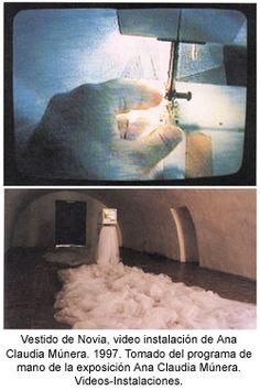 Anan Claudia Munera, Vestido de novia, 1997