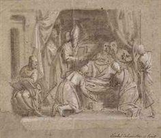Carlo Caliari La mort de la Vierge Christies (italy)