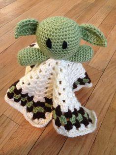 Yoda Lovey Doll by rosemarysbabymek on Etsy, $35.00