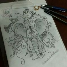 Art By @araninchaves #Elefante #Indiano