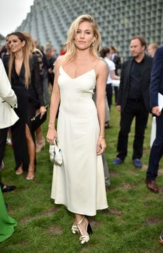 Sienna Miller Is Our Best In A Classic Slip