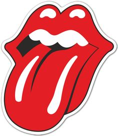 Being an original and popular band, Rolling Stones has a great logotype design. Check out all versions of the Rolling Stones logo and what they meant. Tumblr Stickers, Phone Stickers, Cool Stickers, Window Stickers, Printable Stickers, Fridge Stickers, Rolling Stones Logo, Rolling Stones Music, Festa Rock Roll