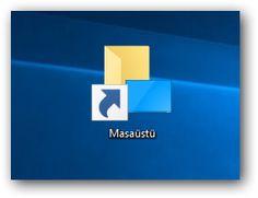 Windows 10: Kısayol Ok Simgelerini Kaldırmak veya Değiştirmek Windows 10