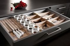 Cajones de cocina SieMatic, con premio de diseño | Decoratrix | Decoración, diseño e interiorismo