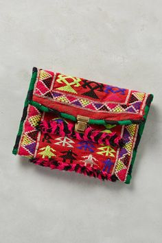 One-of-a-Kind Aya Clutch by ART/C #anthrofave #anthropologie