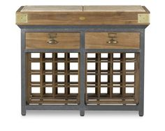 French Chef's Kitchen Island with Drawers | Williams-Sonoma, $1299 @Susan Roberts for Cville kitchen?