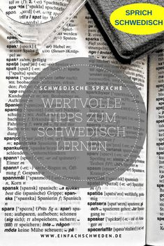 Learn Swedish Tips Language Dictionary german tyska svenska Language Dictionary, Learn Swedish, Swedish Language, Learning, German, Languages, Europe, Learn Languages, Sweden