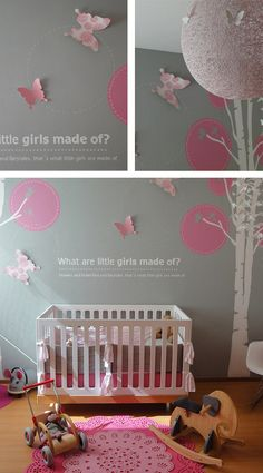 girl nursery idea