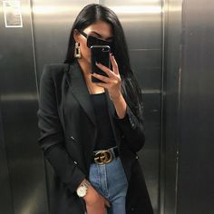 edgy fashion Angelina Shop en bio Click S - fashion Autumn Fashion Curvy, Curvy Fashion, Winter Fashion, Fashion Looks, Fashion Night, Fashion Edgy, Fashion Spring, Fashion Trends, Classy Outfits