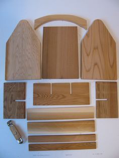 Three DIY Wood 6 Pack Bottle Carrier kits by WoodaCooda on Etsy