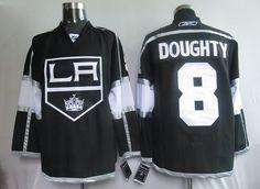 NHL Jerseys Los Angeles Kings Drew Doughty #8 Black