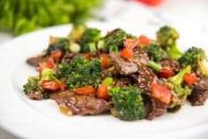This beef and broccoli is so easy, healthy, and packed full of protein!