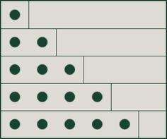 1 + 2 + 3 + … + n = n * (n+1) / 2