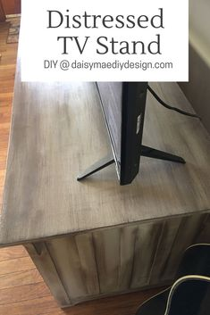 Create DIY Distressed Looking Living Room Tv Stand For Your Home Cheap How