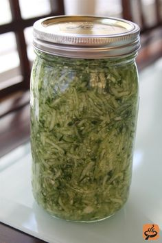 Fermented Spicy Cucumber 'Kraut' recipe