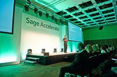 Sage Accelerate Conference, London 2015. Keynote by Brendan Flattery CEO UK & Ireland at Sage #SageBP #Sage200