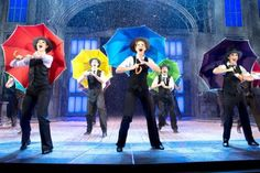 What a glorious feeling it is to watch Singin' in the Rain tap and splash its way across Milton Keynes Theatre's freshly-flooded stage. Cardiff, Theatre Reviews, Acquired Taste, Milton Keynes, Dance Teacher, Bradford, Musical Theatre, Musicals, Rain