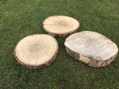 These can be used for the round tables! Just beautiful. Round Tables, Logs, On Your Wedding Day, Texture, Canning, Weddings, Crafts, Beautiful, Bodas