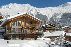 After a hectic day on the slopes of the hills head down the little path that leads to your door at Chalet Verbier which looks like the ultimate logo of staying in luxury.