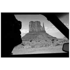 magnumphotos Over the decades Magnum photographers have captured the expansiveness of the American landscape, from national parks and the open roads that traverse Monument Valley Navajo Tribal Park's sculptural rocks, to the vast emptiness of Arizona's Petrified Forest.  See more photos in today's feature on Magnum. Link in bio.  PHOTO: Monument Valley. Utah, USA. 1982. © #RaymondDepardon/#MagnumPhotos  #MonumentValley #blackandwhitephotography