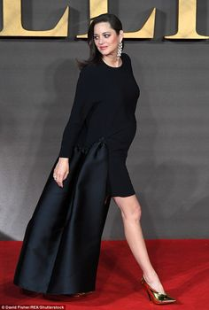 Marion Cotillard in Stella McCartney attends the UK Premiere of