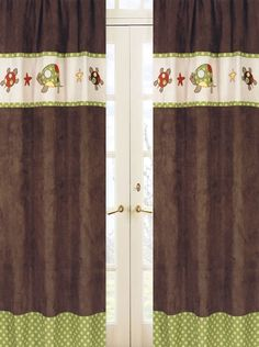 Sweet Jojo Designs Turtle Window Panels #tinytotties #kidsroomdecor