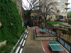 A Beer Garden Inspired by The Royal Tenenbaums?  Easy Tiger - Austin