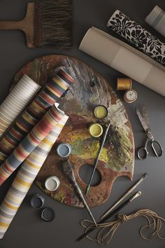 Beautiful new #wallpaper collection by Little Greene using traditional paint and not ink.