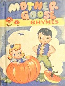 Mother Goose, 1942, 1944 edition, illustrated by Junice Wedde...Rand McNally...mine since 1944