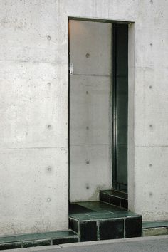 Azusa House by Tadao Ando Public Architecture, Concrete Architecture, Architecture Art Design, Architect Design, Architecture Details, Tadao Ando, Arch Interior, Interior And Exterior, Casa Azuma
